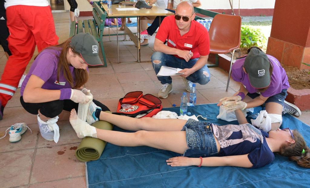 CKS: u subotu Državno takmičenje ekipa prve pomoći Crvenog krsta Srbije