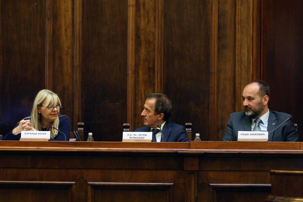 Skupština Srbije: Sednica Odbora za za ljudska i manjinska prava