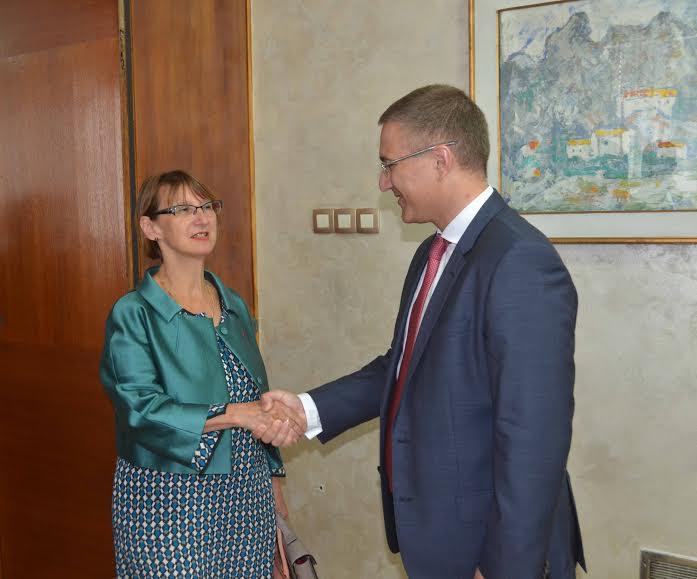 Stefanović razgovarao sa francuskom ambasadorkom Moro