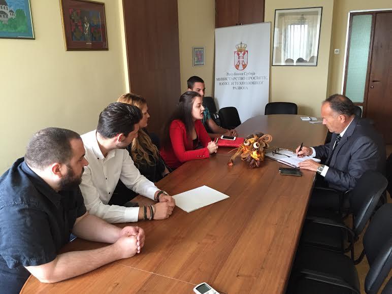 Predstavnici SP razgovarali sa ministrom Šarčevićem