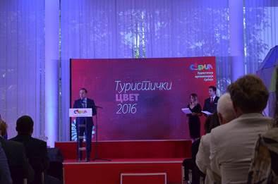 Ljajić na dodeljivanju nagrade Turistički cvet: : Cilj povećanje deviznog priliva od turizma