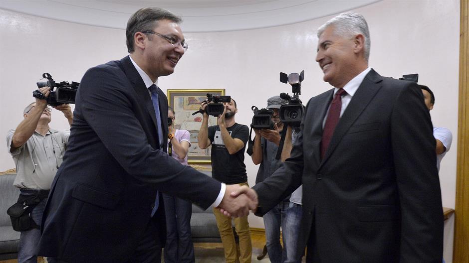 Aleksandar Vučić razgovarao sa Draganom Čovićem