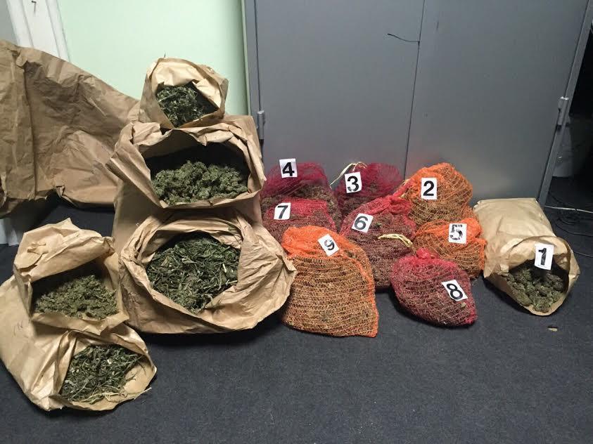 Zaplena droge u Kruševcu i Šapcu
