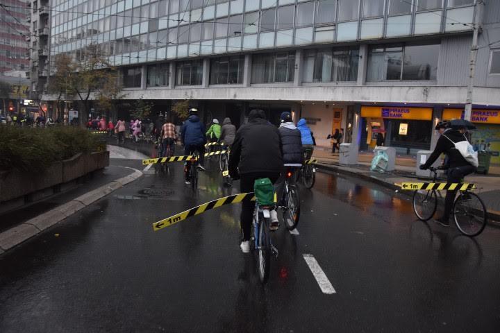 Beogradska kritična masa: biciklisti traže bezbedniju vožnju