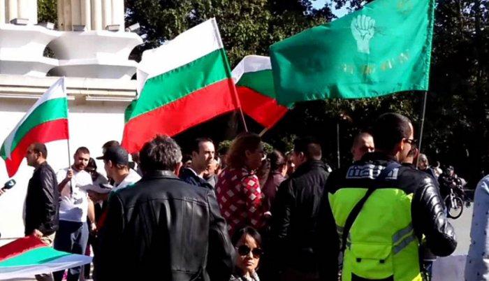 Anti – migrantski protesti u Bugarskoj