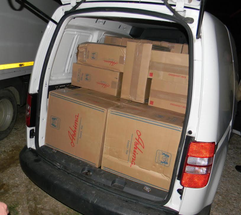 U Novom Pazaru policija  zaplenila 27.500 paklica cigareta