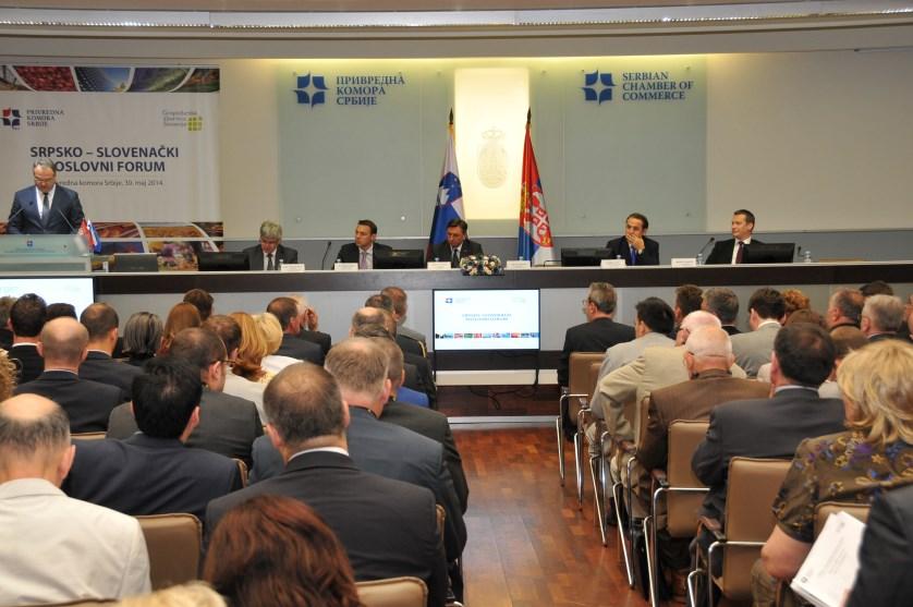 Poruka Poslovnog  foruma Srbija – Slovenija: Drži se novog puta i starog prijatelja