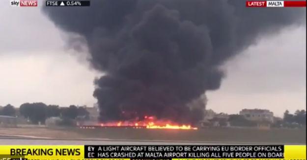 Avionaska nesreća kod Malte