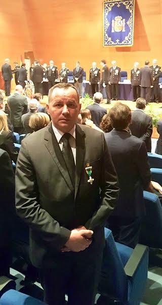 Španski orden načelniku MUP-a Dejanu Kovačeviuću