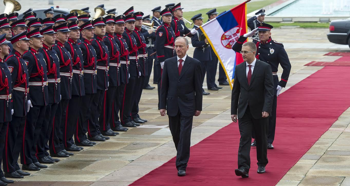 Sekretar Saveta bezbednosti Rusije Nikolaj Patrušev u Beogradu