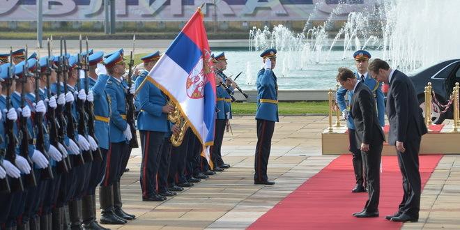 Konferencija za medije Cerara i Vučića: Slovenija zemlja za primer Srbiji!