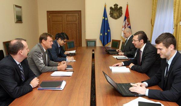 Predstavnici MMF razgovarali sa Vučićem