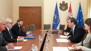 Vučić primio predsednika PSSE Pedra Agramunta