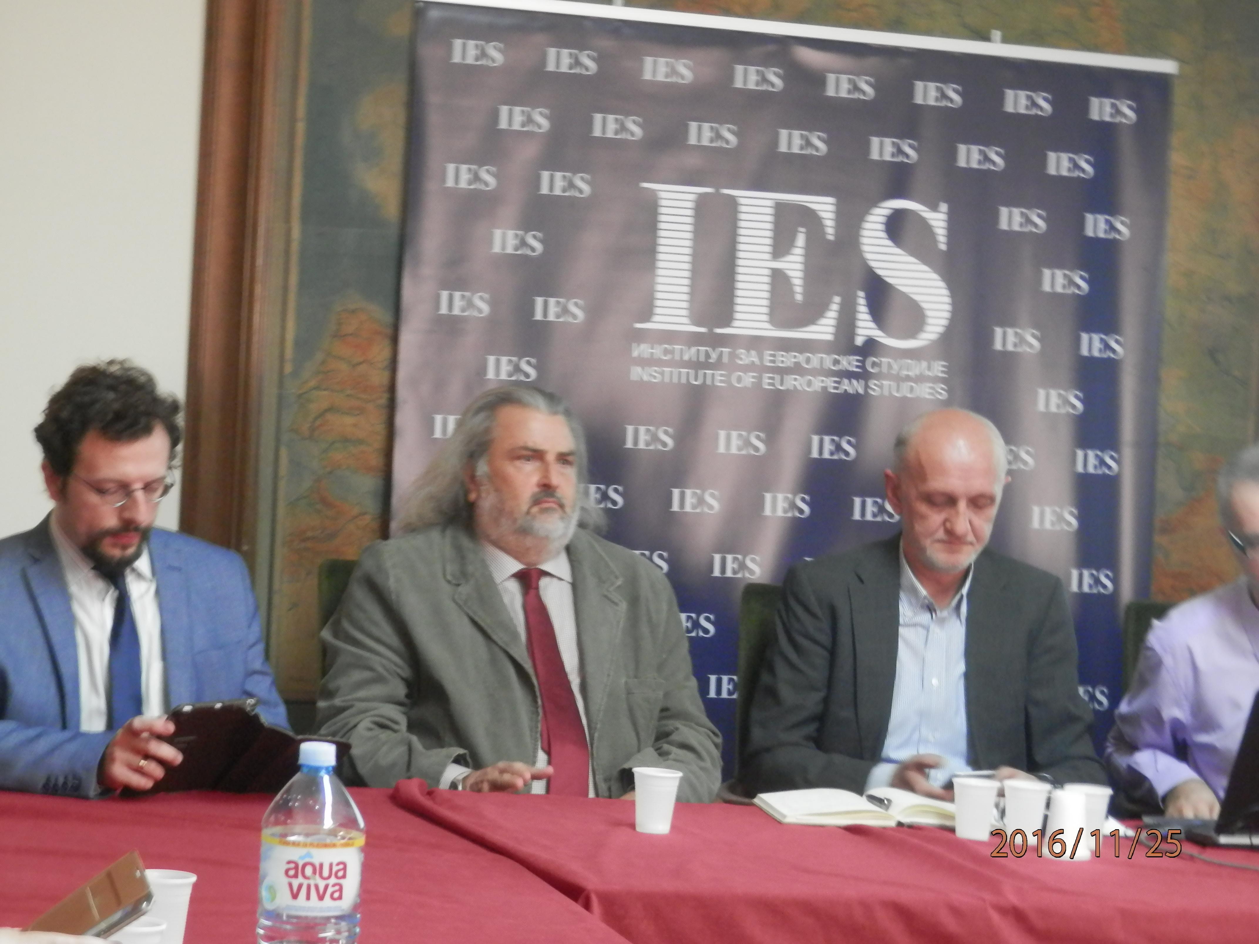 Debata u NIN-u o izborima u Makedoniji