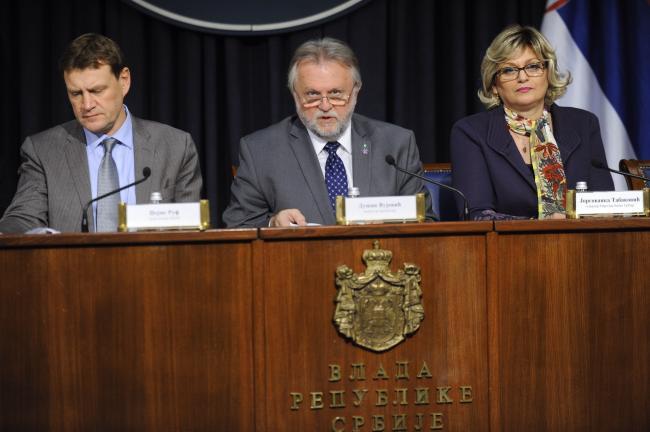 Zadovoljan MMF otišao iz Srbije