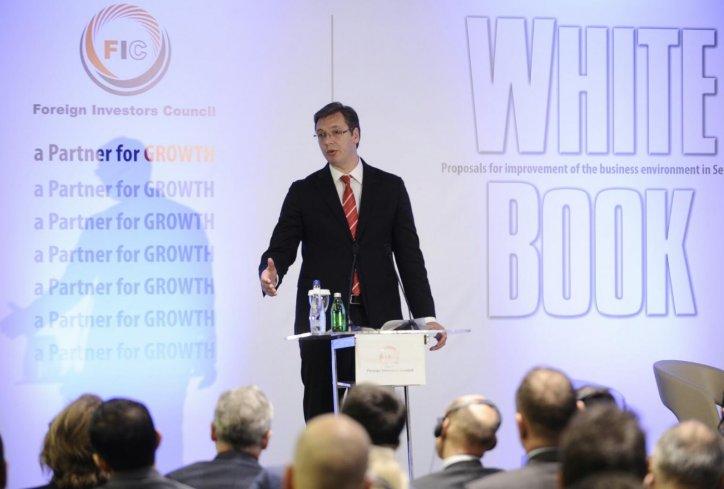Predstavljena Bela knjiga 2016, Saveta stranih investitora
