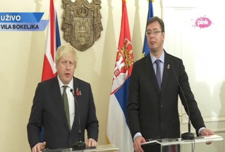 Boris Džonson u Beogradu