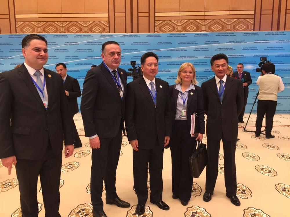 Ministar Antić na Konferenciji o globalnom održivom transportu u Turkmenistanu
