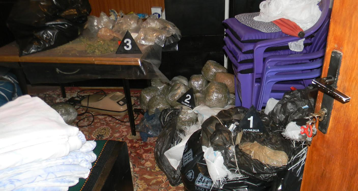 Policija zaplenila 64,4 kilograma marihuane