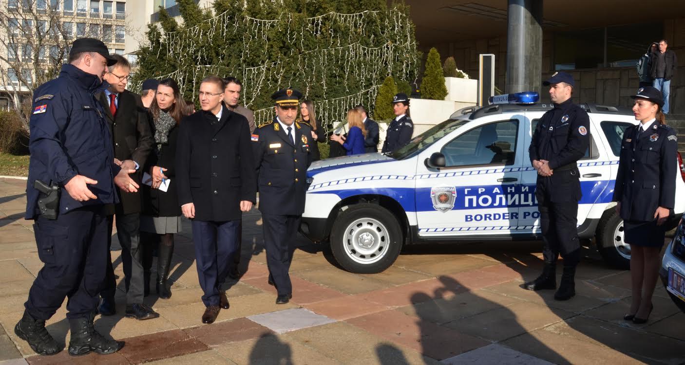 Nemački poklon – patrolna vozila  graničnoj policiji