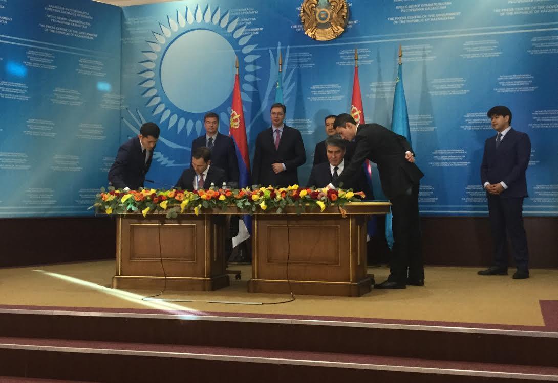Srpska delegacija u Kazahstanu