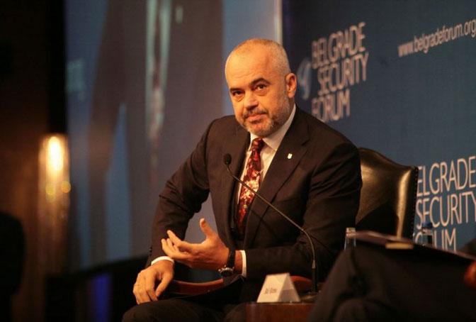 Edi Rama: Velika prijateljica Albanije i svih Albanaca nije pobedila