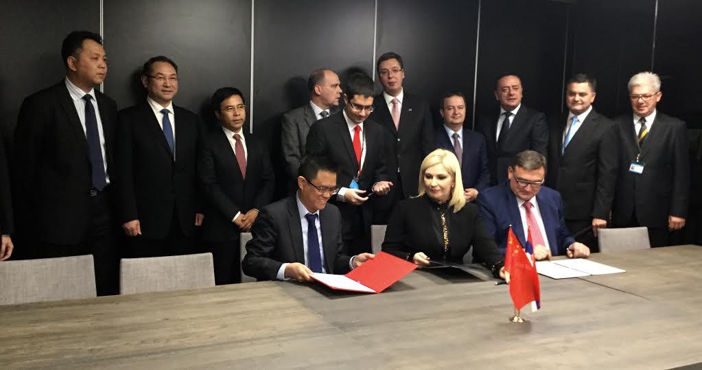 Potpisan sporazum sa Eksim bankom Kine