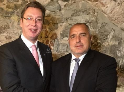 Riga: Razgovarali Vučić i  Borisov