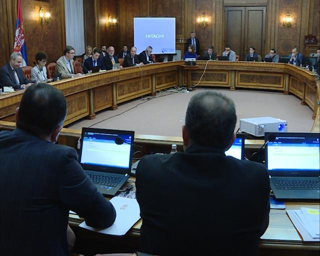 Tematska sednica Vlade sa predstavnicima Svetske banke