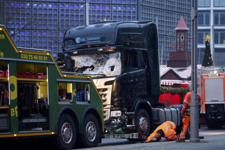 Berlin: policija i dalje traži vozača kamiona