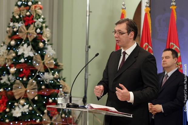 Godišnja konferencija za novinare Aleksandra Vučića