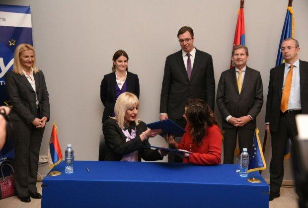 Vučić: bez EU neću da učestvujem u stvaranju budućnosti Srbije.