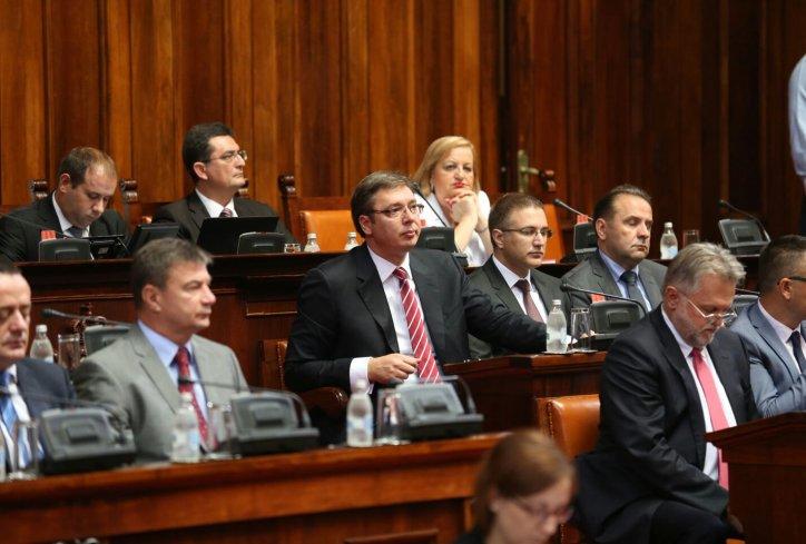 Vučić o usvajanju budžeta: naslušao sam se različitih uvreda