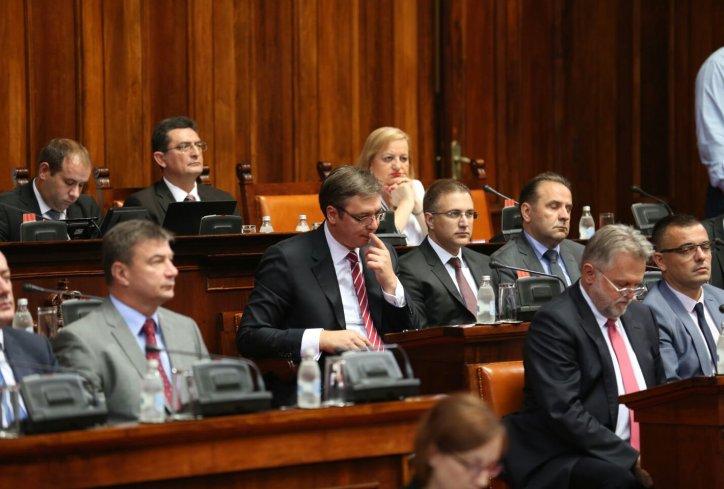 Skupština Srbije: Šta je Vučić rekao delu opozicije?