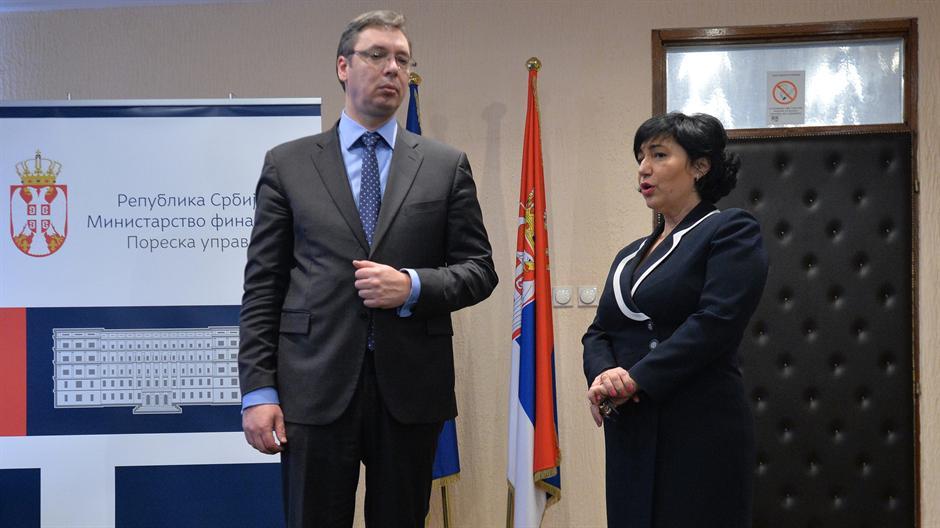 Aleksandar Vućić  najavio veće kazne za neplatiše poreza