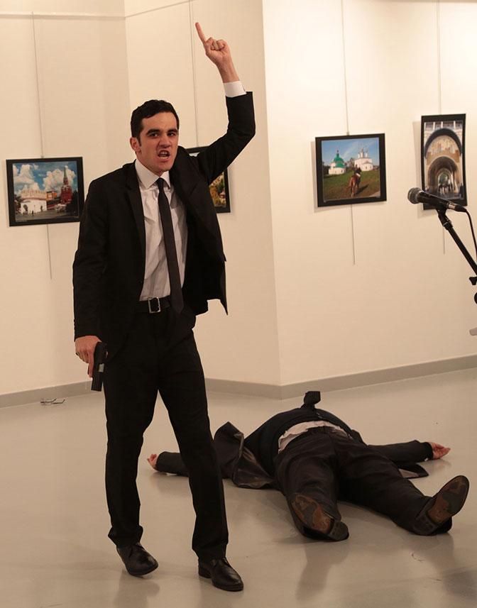 Ankara: hapšenja posle ubistva ruskog ambasadora