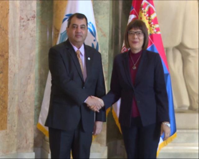 Predsednik Interparlamentarne unije obratio  se poslanicima Srbije
