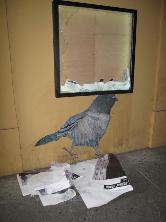 NKSS: Saopštenje povodom razbijanja izloga ulične galerije Šok zadruge