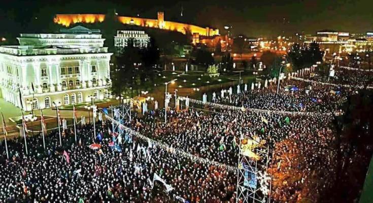Skopje: Na mitingu opozicije sto hiljada ljudi