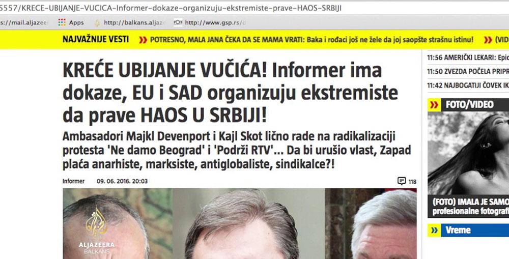 Aktivisti inicijative Ne da(vi)mo Beograd podneli prve tužbe protiv Informera