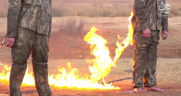 """""""Islamska država"""" spaljuje (žive) turske vojnike!"""