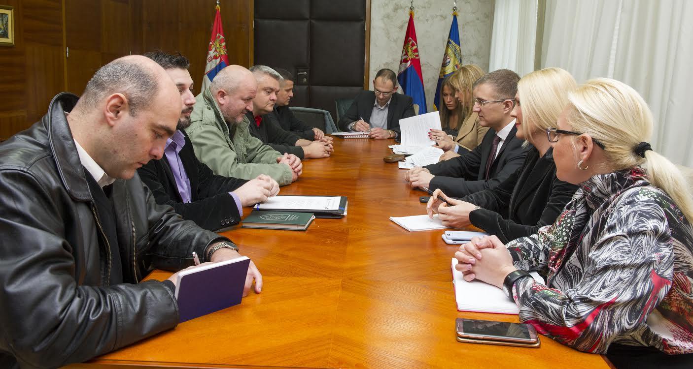 Sastanak predsednika policijslog sindikata sa Ministrom
