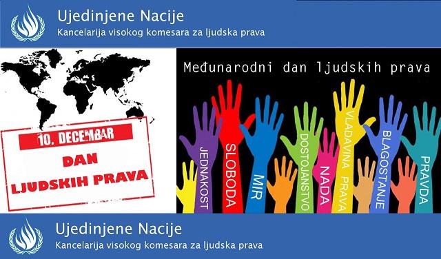 Deseti decembar Međunarodni dan ljudskih prava