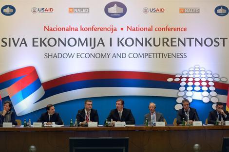 Aleksandar Vučić na konferenciji o suzbijanju sive ekonomije