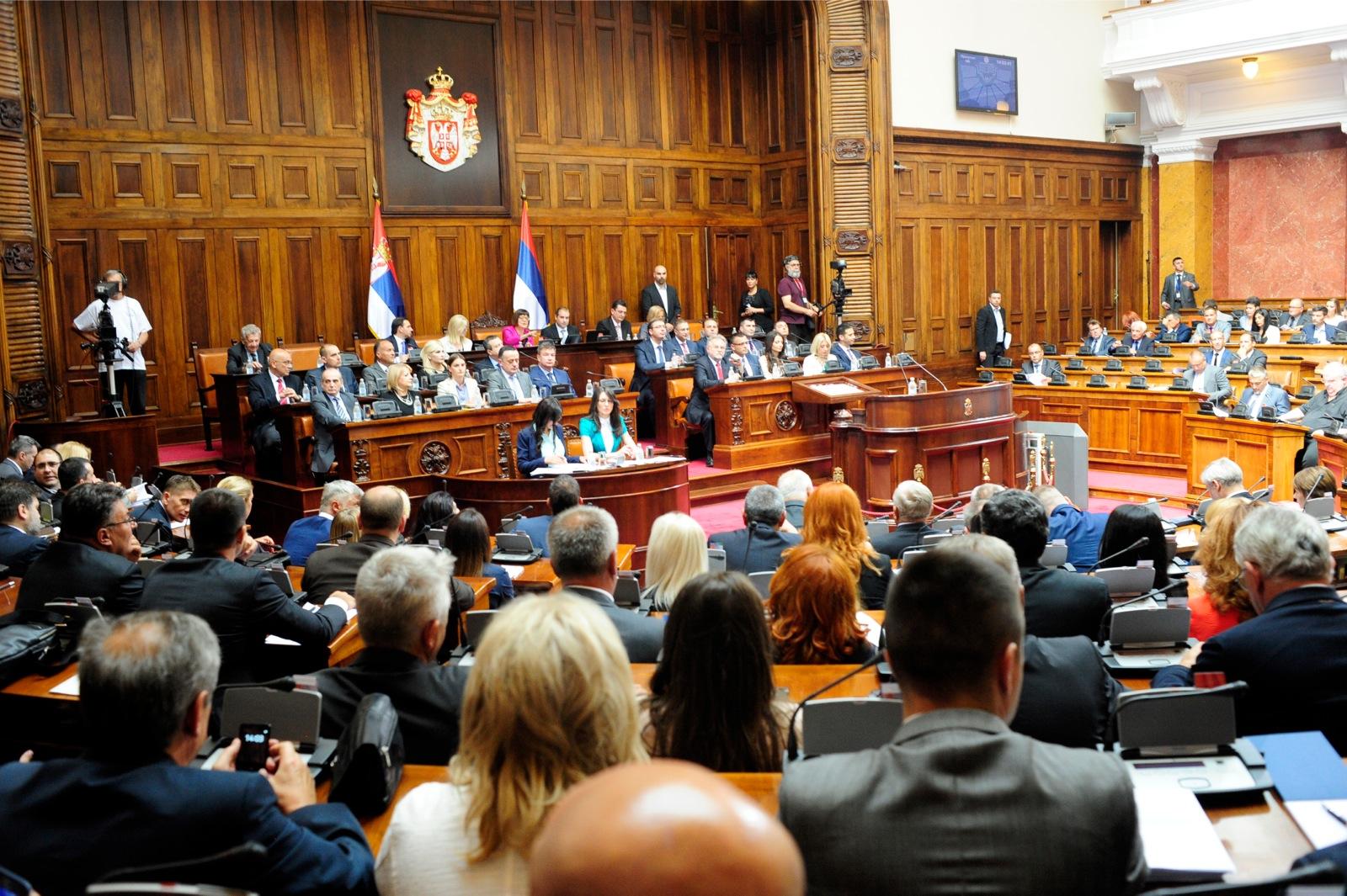 Skupština Srbije: pohvale budžetu