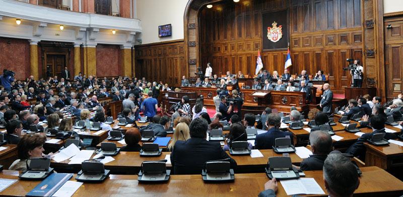 Skupština Srbije – svađa o amandmanima na predlog budžeta za 2017.