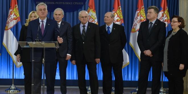 Susret Nikolića sa urednicima medija: o predsedničkoj kandidaturi oko Božića