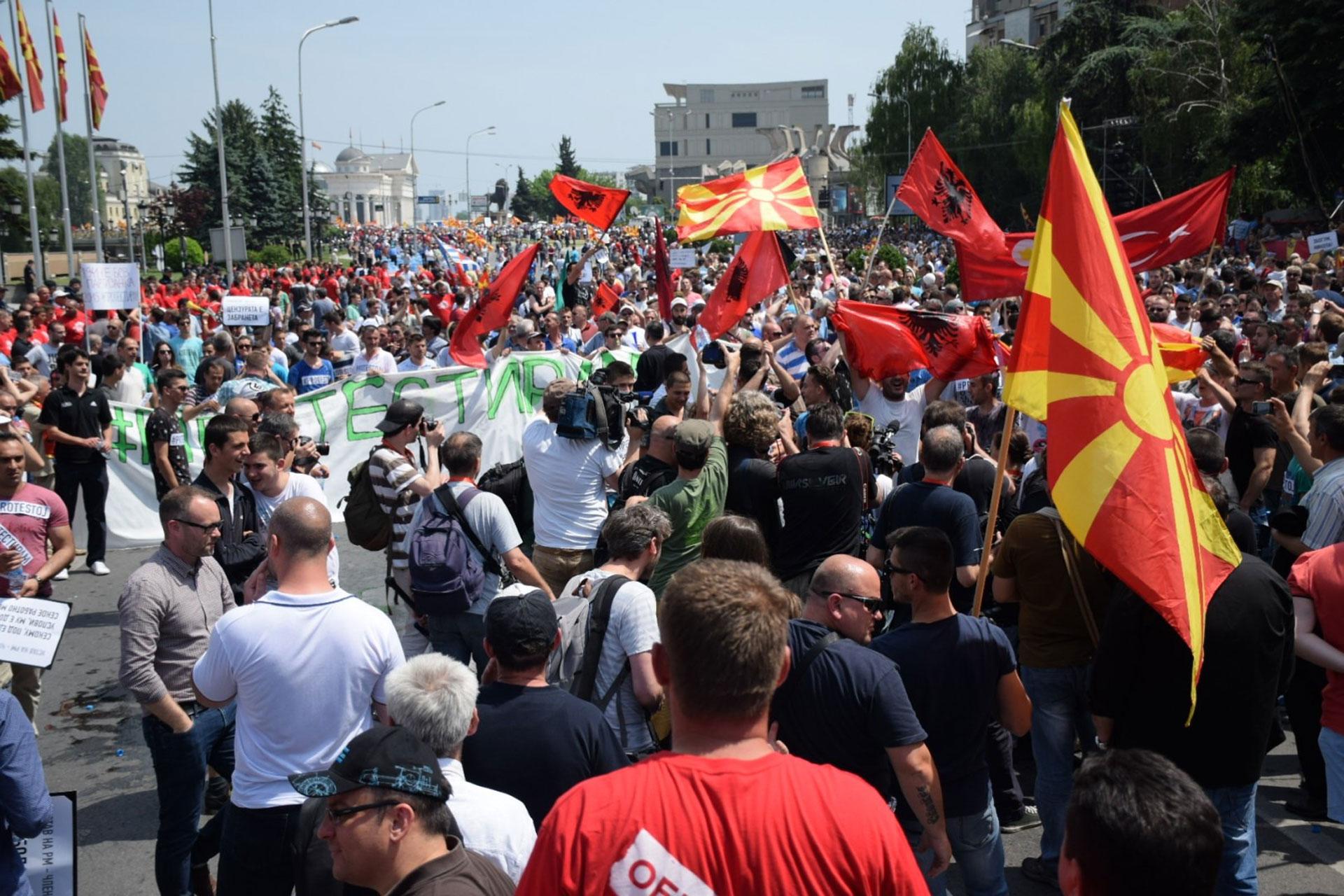 Makedonija: kriza  s formiranjem vlade se nastavlja