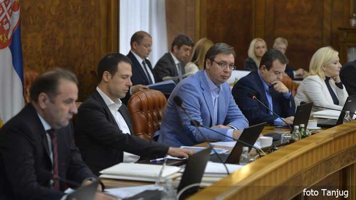 Vlada danas usvojila Predlog zakona o  budžetu