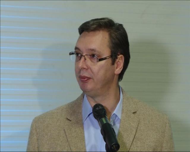 Vučić na obeležavanju desete godišnjice poslovanja Gorenja u Valjevu